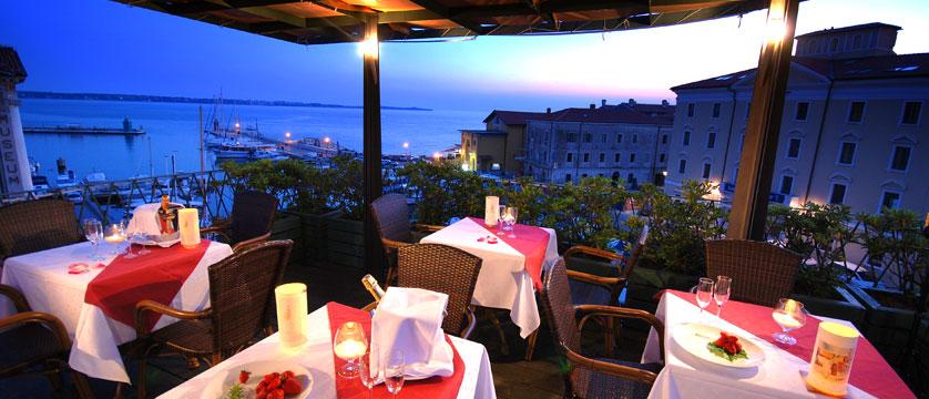 Hotel Tartini, Piran, Slovenia - restaurant terrace.jpg